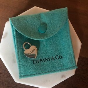 Tiffany & Co. vintage xoxo heart lock charm